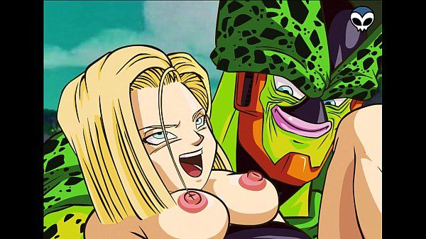 DBZ- Android 18 and Cell..