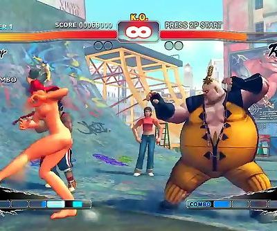 Lets Play Street Fighter IV..