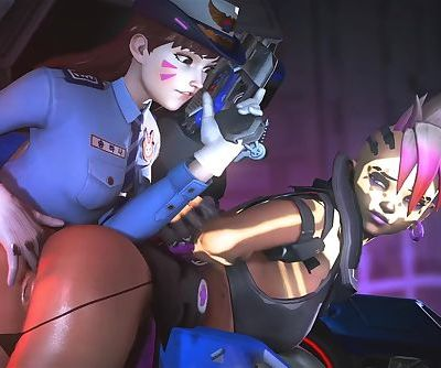 Overwatch Officer D.Va..