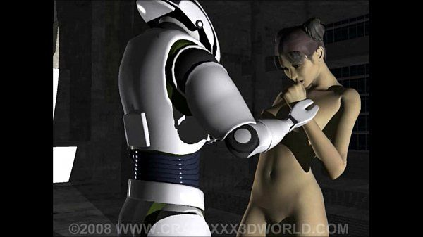 3D Animation: Robot Captive..