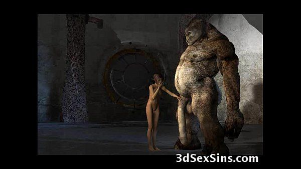 Monsters Fuck 3D Babes! - 3..